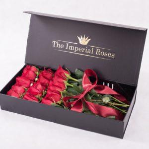 Boxy zo živých ruží